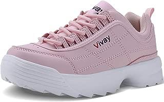 Girls Sneakers Kids Tennis Shoes Outdoor Sport Walking Shoes for Boys(Little Kid/Big Kid)