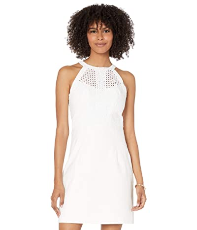 Lilly Pulitzer Charlize Stretch Shift Dress (Resort White) Women