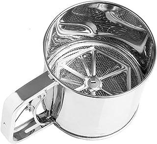 MGE - Cribador de Harina - Tamizador - Acero Inox - 500 gr