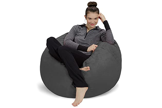 Strange Best Oversize Bean Bags For Adults Amazon Com Inzonedesignstudio Interior Chair Design Inzonedesignstudiocom