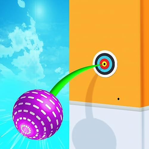 Pokey Ball Flicking! Jump - Ball Throwing Flick Game
