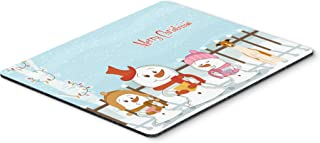 Caroline's Treasures Merry Christmas Carolers Whippet Mouse Pad,  Multicolor, 7.75x9.25 (BB2430MP)