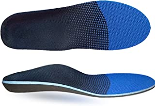 Orthotic Insoles, Full Length Plantar Fasciitis Inserts Feet Insoles for Men and Women High Arch Support Orthotic Inserts Supination, Pronation, Oversupination, Flatfoot, Foot Pain Relief