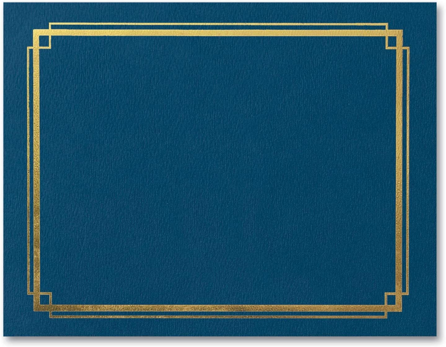 PaperDirect Blue Fixed price for sale Certificate Jackets with Heav Foil Shipping included Gold Border
