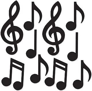 black music note