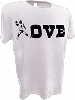 Achtung T Shirt LLC Womens Love Dak Prescott Dallas Cowboys Football QB 4 Tee