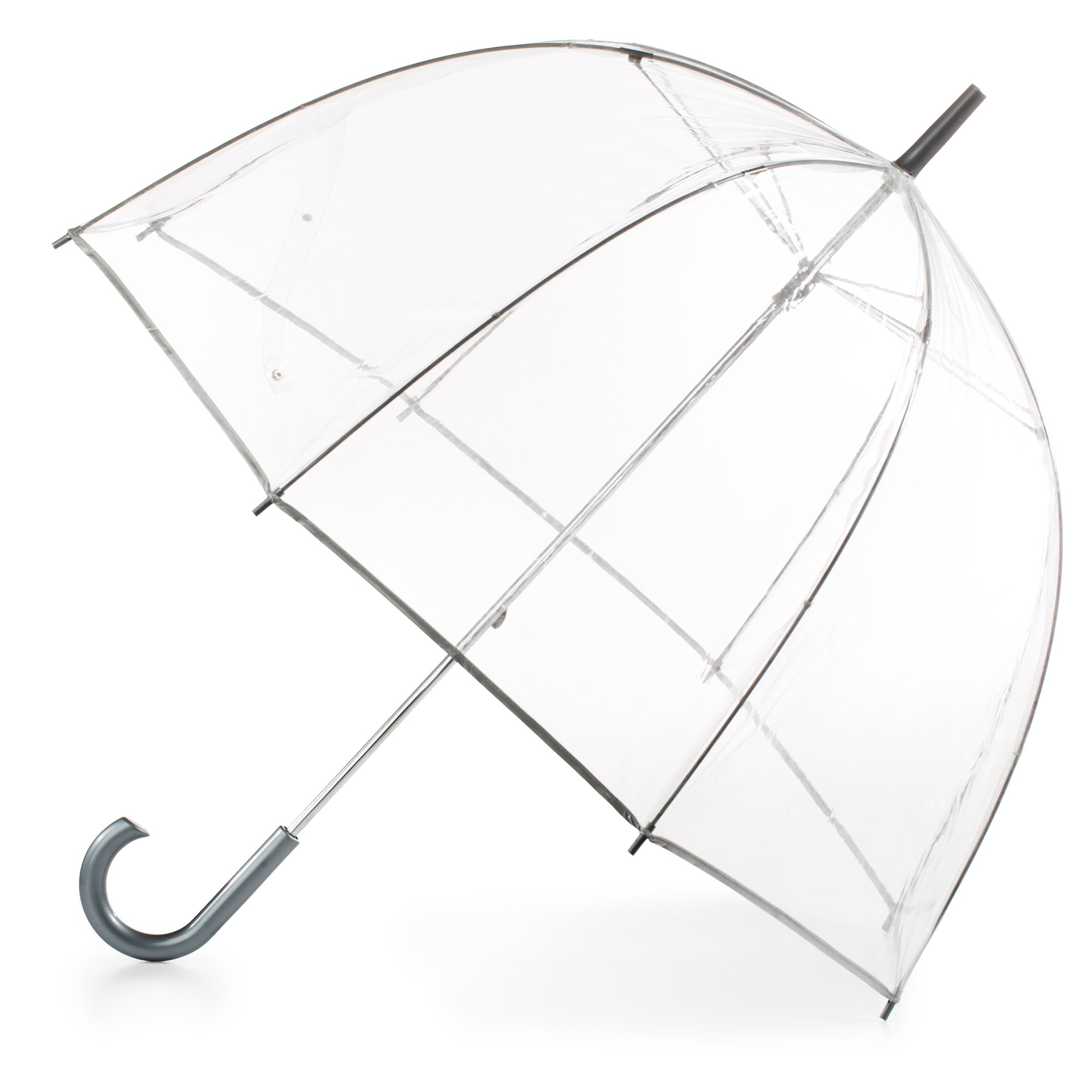 totes Womens Clear Bubble Umbrella