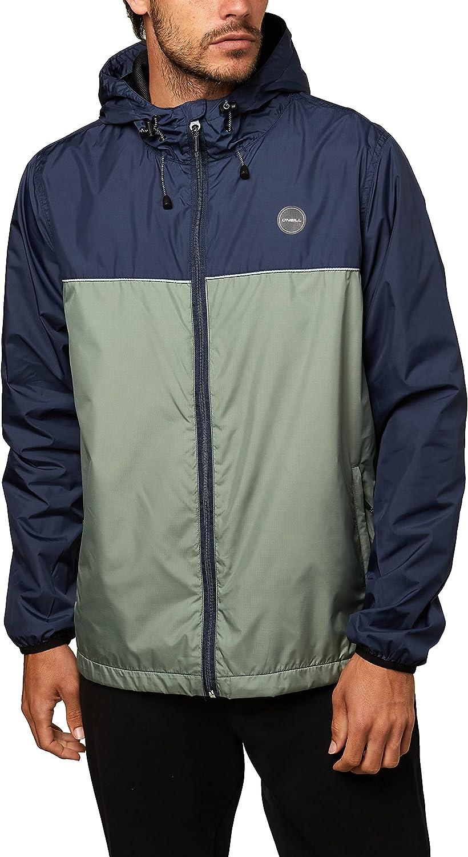 O'Neill Men's Ripstop Max 82% OFF sale Water Resistant Rain Jacket Windbreaker