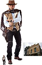 Fan Pack - Wild West Cowboy Cardboard Cutout Lifesize and Mini Cardboard Cutout / Standup - Includes 8x10 Star Photo
