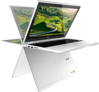 "Newest Acer R11 11.6"" Convertible 2-in-1 HD IPS Touchscreen Chromebook - Intel Quad-Core Celeron N3150 1.6GHz, 4GB RAM, 32GB SSD, 802.11AC, Bluetooth, HD Webcam, HDMI, USB 3.0, 10-Hour Battery"