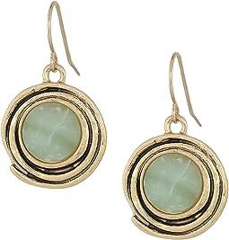 Color Orbit Drop Earrings