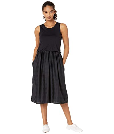Prana Perry Midi Dress (Black) Women