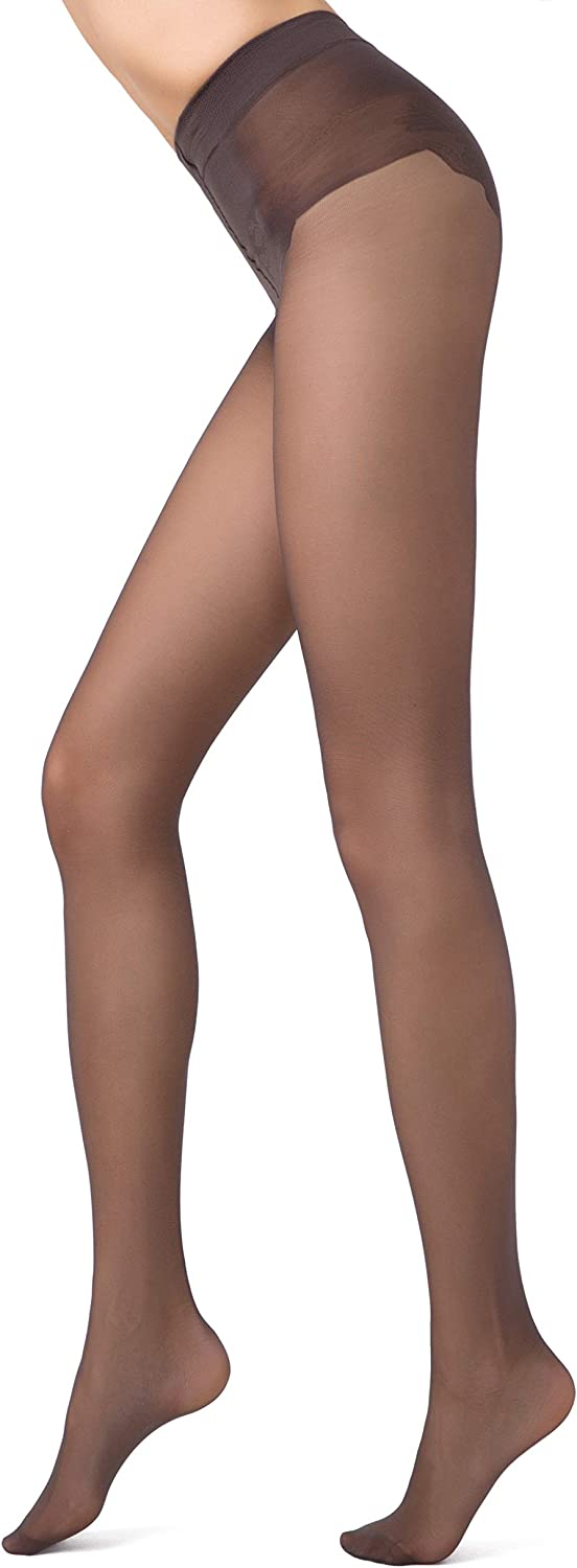 Conte French Cut Semi Opaque Push Up Lace Control Top Slimming Pantyhose Tights Style 40 Den