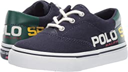 Navy/Green Canvas