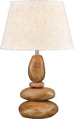 Elk Lighting D3913 Uluru Table Lamp, Toffee Stone