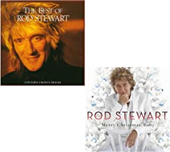 Best Of Rod Stewart - Merry Christmas, Baby - Rod Stewart Greatest Hits 2 CD Album Bundling