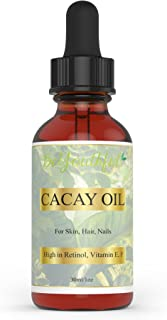 BeYouthful Cacay Oil - 100% Cold Pressed Wild Harvested Cacay Oil For Face, Skin, Hair, Nails. Highest Botanical Source Of Retinol. Best Natural Anti-aging And Anti Wrinkle Oil