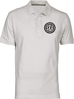 Polo por Hombre Blanco OLDENG00239 Ska Circle: Amazon.es: Ropa y ...