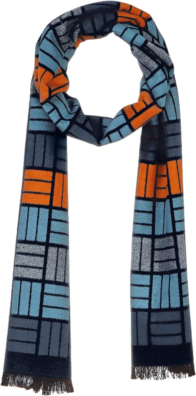 SYSYERAN 100% Silk Winter Scarf Warm Shawl Wraps for Women/Men Cashmere Feel