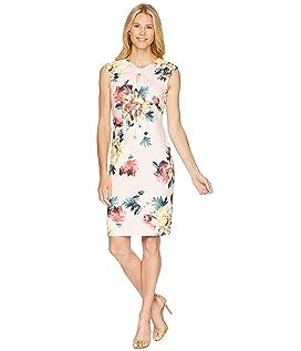 Floral Flowers Sheath Dress