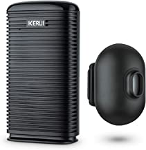 KERUI DW9 Driveway Alarm Wireless Weatherproof Outdoor PIR Motion Detector Indoor Chime Receiver, DIY Entry Auto Doorbell...
