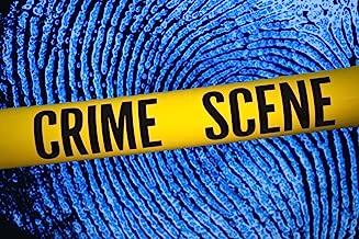 Crime Scene Tape Fingerprint Background Forensic Science Classroom Teacher Teaching Law Enforcement Cool Wall Decor Art Print Poster 18x12