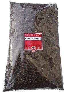 SABOREATE Y CAFE THE FLAVOUR SHOP Te Negro Ceylan Descafeinado En Hebra Hoja A Granel Infusión Natural Energético 500 gr