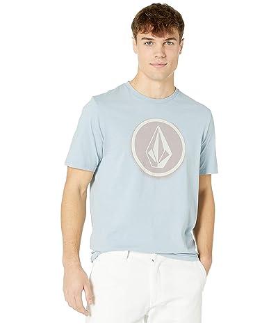 Volcom Spray Stone Short Sleeve Tee (Slate Blue) Men