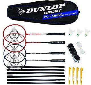 Dunlop Play Smash 4 Player Badminton Set