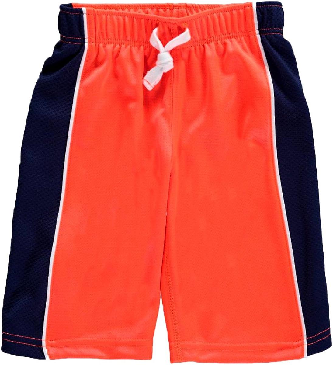 Carter's Little Boys Mesh Shorts Orange