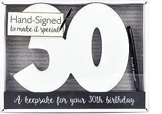 Celebrate In Style Signature Plaque - 30
