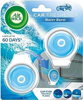Airwick Car Freshener Multi-surface Clip, Water Burst – 2 units