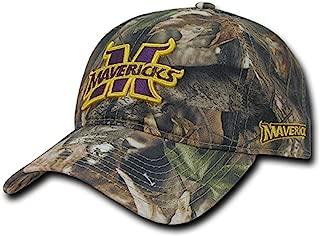 University of Minnesota State Mankato Mavericks Cotton Hybricam Camo Camouflage Polo Style Baseball Ball Cap Hat