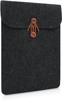 Buruis Felt Laptop Sleeve, 11 to 15.6 inch waterproof Envelope Sleeve for Laptop Tablet ipad pro Macbook Air Macbook Pro R...