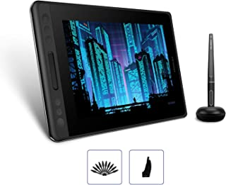 HUION Kamvas Pro 12 GT-116 Drawing Tablet with Laminated Screen 11.6inch Pen Display Battery-Free Graphics Monitor Tablet with 8192 Pressure Sensitivity Tilt Function Touch Bar (Without Stand)