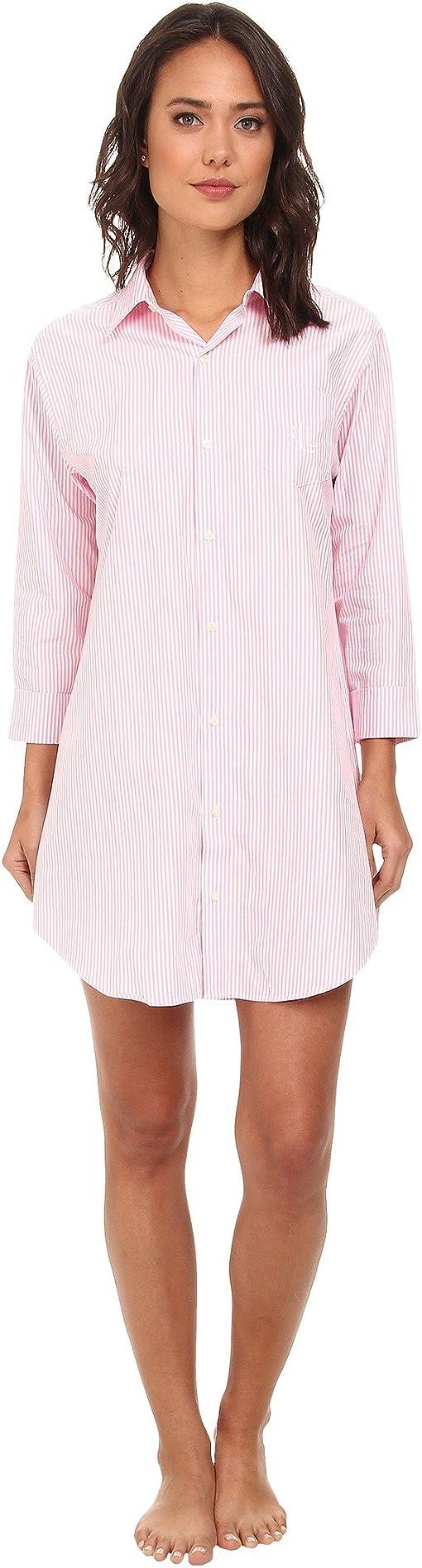 Carissa Bengal Stripe Pink Hyacinth/White