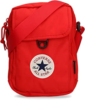 Converse 10020540-A02, Sac pochette unisexe mixte adulte, red, One size