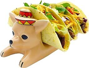 Ceramic Taco Holder - Tacos Serving Tray for Children