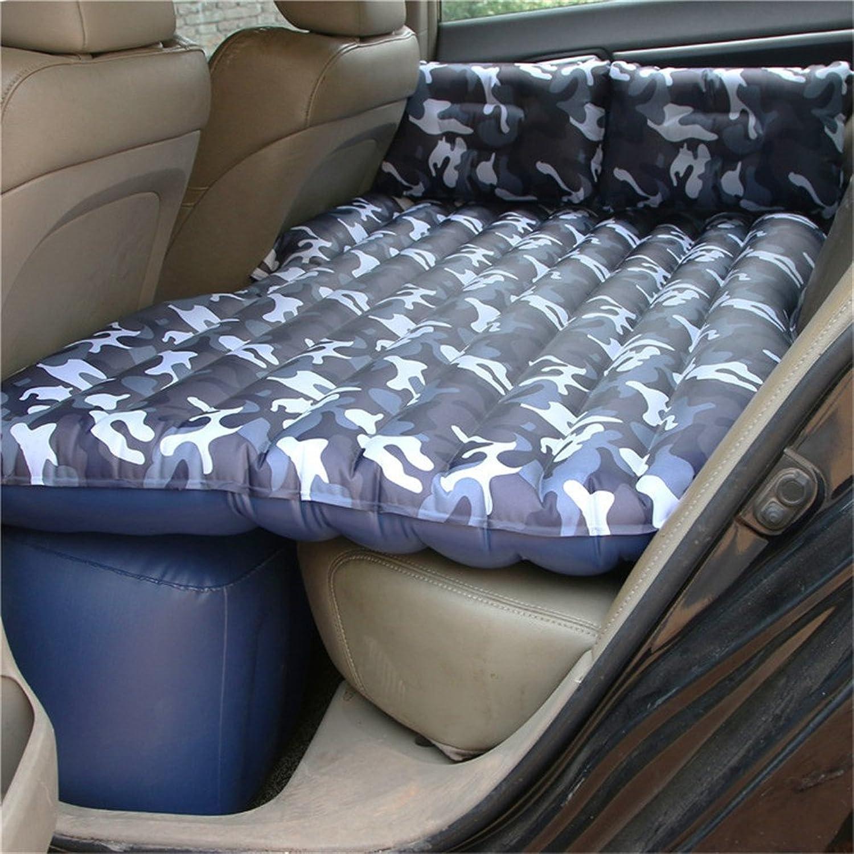LCYCN Auto-aufblasbare Matratze-Reise-kampierendes Luft-Bett für das Kampieren   vervollkommnen für Ihren Minivan oder SUV mit 2 Luftkissen