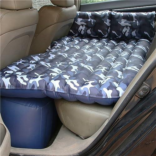 Grand Bouée gonflable Lit gonflable de voyage de camping de matelas de voyage de matelas de voiture pour le camping   parfait pour votre mini-fourgonnette ou SUV avec 2 oreillers d'air