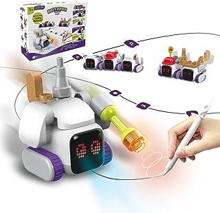 BOTZEES مجموعه فعالیت های ربات Robotics-Mini Coding، Homeschool، Robot Coding for Kids، STEM Toy، Programming for Kids، 3 years