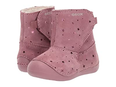 Geox Kids Jr Tutim 33 (Infant/Toddler) (Dark Pink) Girls Shoes