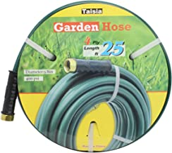 """Taisia PVC Garden/Farm/Water Hose 5/8""""-25ft/15ft/25ft-4 PLY Great for Gardens/Farm and Ranch (25 FT)…"""