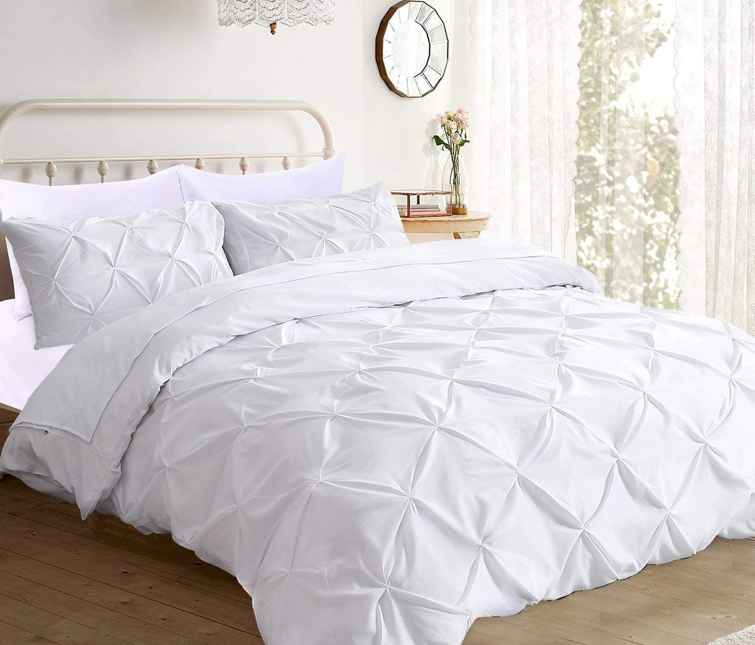 Max 52% OFF 800 TC free shipping Ultra Silky Soft Pinch Cotton Pleated King Egyptian Cal-K