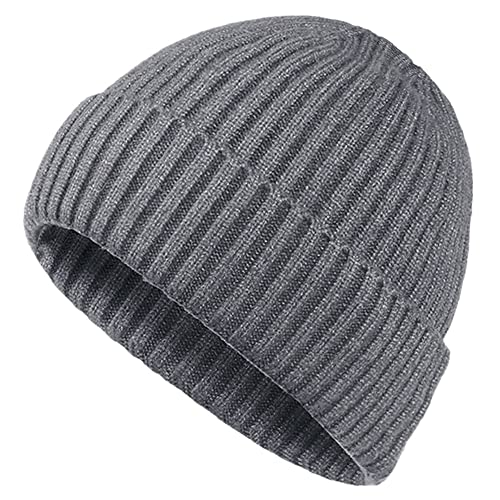 17976938c50 Oryer Mens Winter Hats Wool Knit Slouchy Beanie Warm Hat Baggy Skull Cap