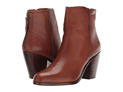Frye Cameron Bootie (Tan Tumbled Pull-Up) Women