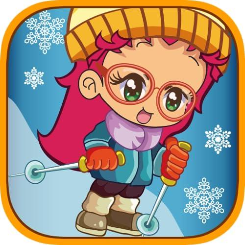 Skate Girl - Snow & Ice Speed Wheel Sport Game