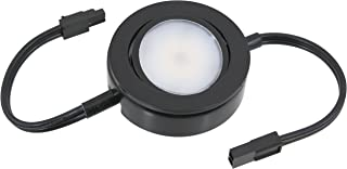 American Lighting MVP-1-BK-B-MASTER MVP-1-BK-B MVP LED Puck Light Collection, 6-Pack, Black