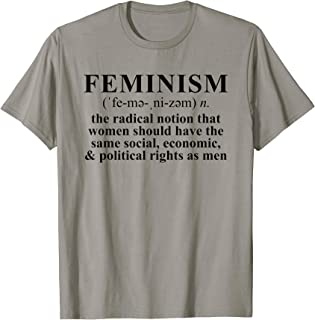 Feminism Definition T-shirt Feminist Tee Shirt