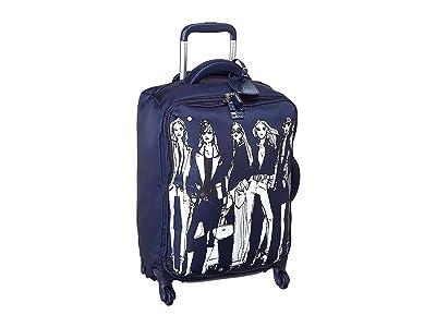 Lipault Paris Izak Zenou Spinner 55/20 Carry-On (Pose/Night Blue) Luggage
